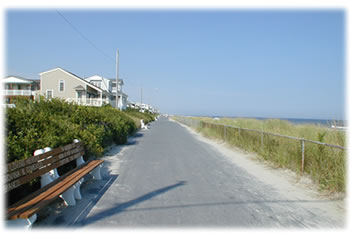 picture of sea isle city, nj promenade