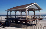 pavillion on the Sea Isle City, NJ Promenade