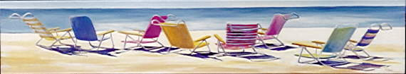picture of beach chairs on beach